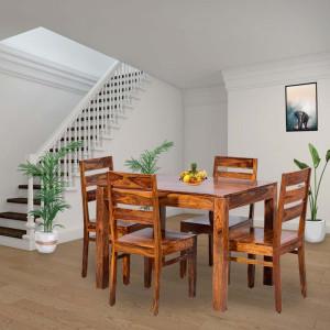 Solid Wood Anitz Sheesham Dining Table