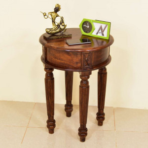 Solid Wooden Carbin Peg Table