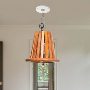 Solid Wood Wall Hanging Lights