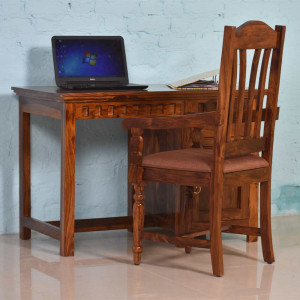 Solid Wood Kuber Study and Office Table