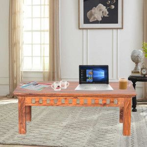 Solid wooden Top Kuber Center Table