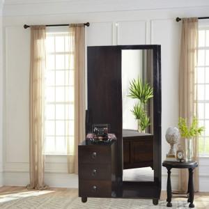 Solid Wood Triumph Dresser With Mirror