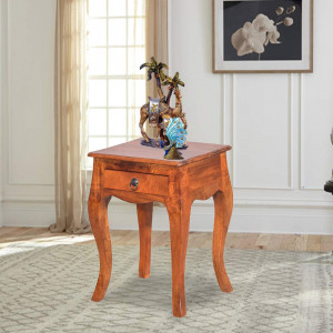 Solid Wood Sheesham Flair Design Peg Table