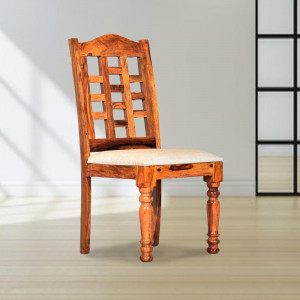 Solid Wood Zenith Sheesham Dining Table Chair