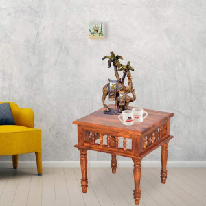 Solid Wooden Alanis Peg Table