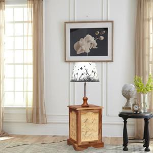 Sheesham Wood Finish Lamp stand