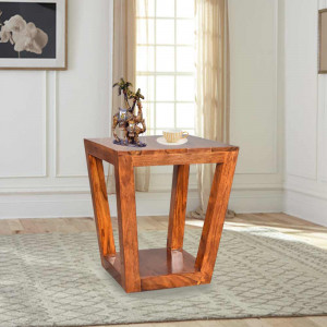 Solid Wood Louis Side Table & Peg Table