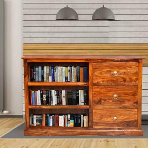 Solid Wood Lexington Book Shelf