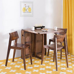 Solid Wood Folldining Dining Table