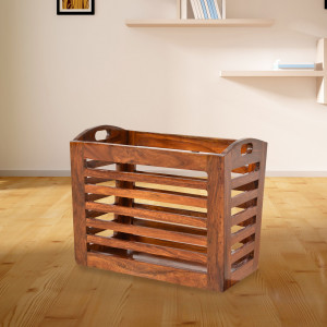 Solid Wood Infinity kitchenware Basket Crockery