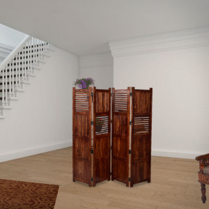 Sheesham Solid Wooden Follding Screen