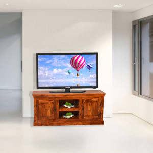 Solid Sheesham Wood TV Stand