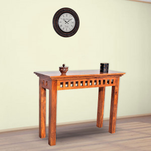 Solid Wood Kuber Sheesham Console Table
